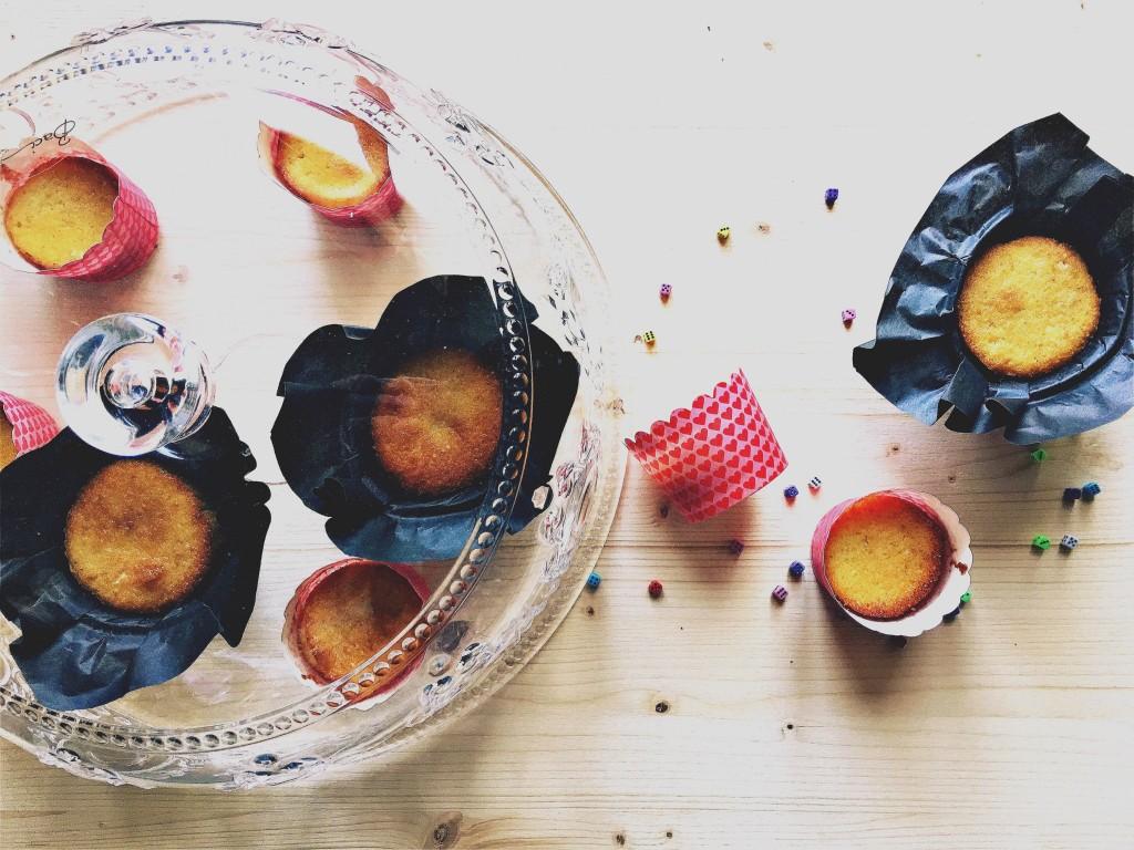 cupcakes limone e mandorle gluten free