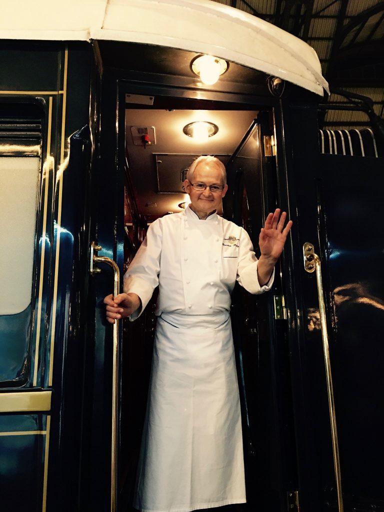 Chef Christian Bodiguel Venice Simplon Orient Express