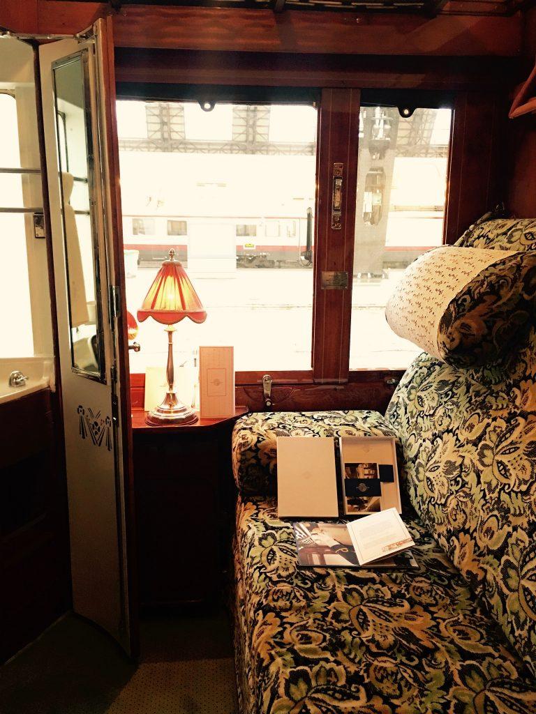 Dettaglio cabina, Venice Simplon Orient Express