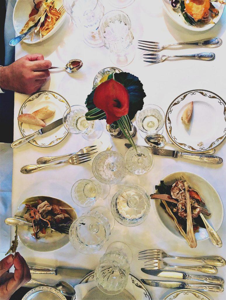 Dinner at Venice Simplon Orient Express
