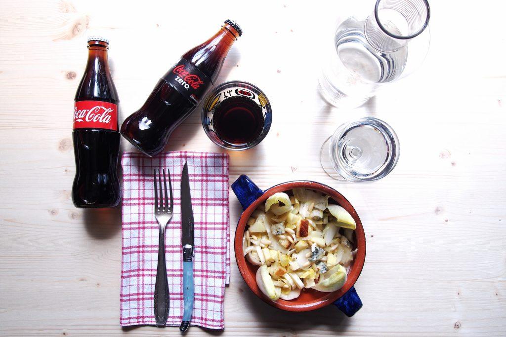 Invidia che Indivia Il Gusto a tavola Coca-Cola