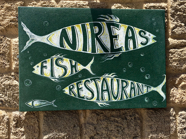 Nireas Fish restaurant Rodi