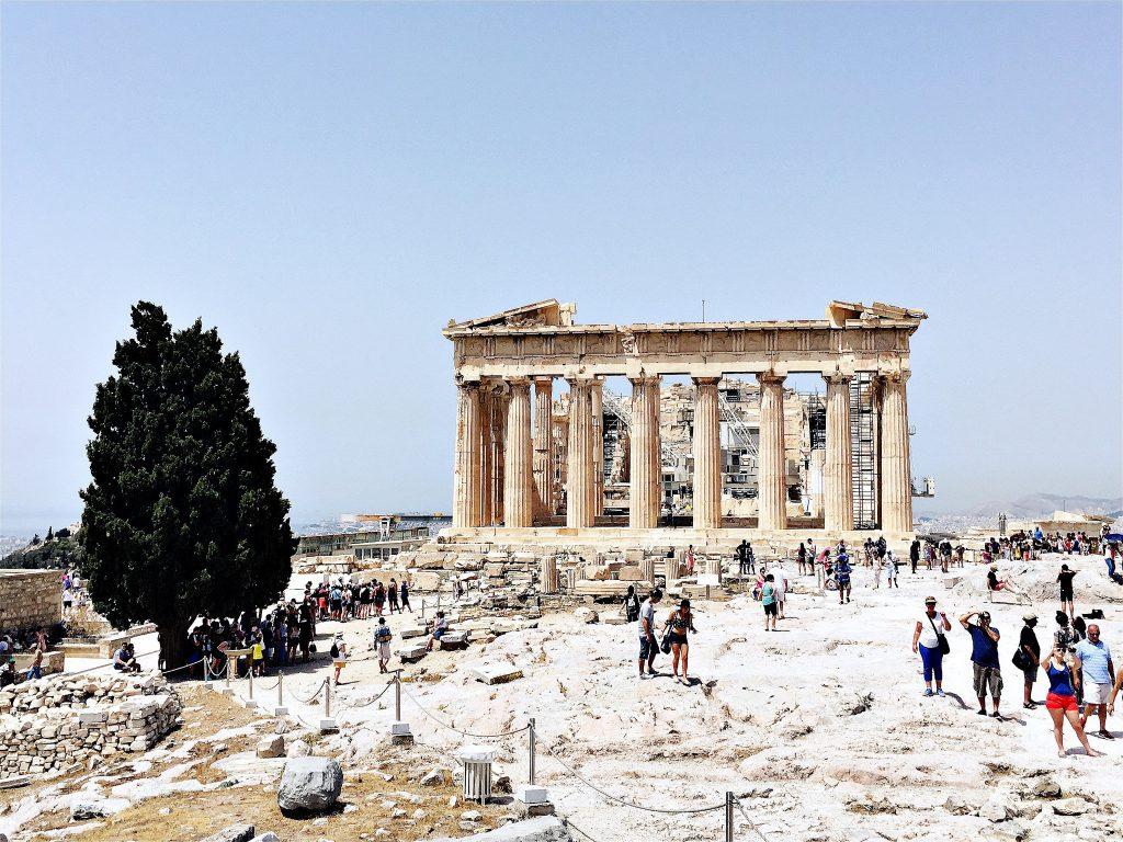 Partenone Atene Carnival Vista