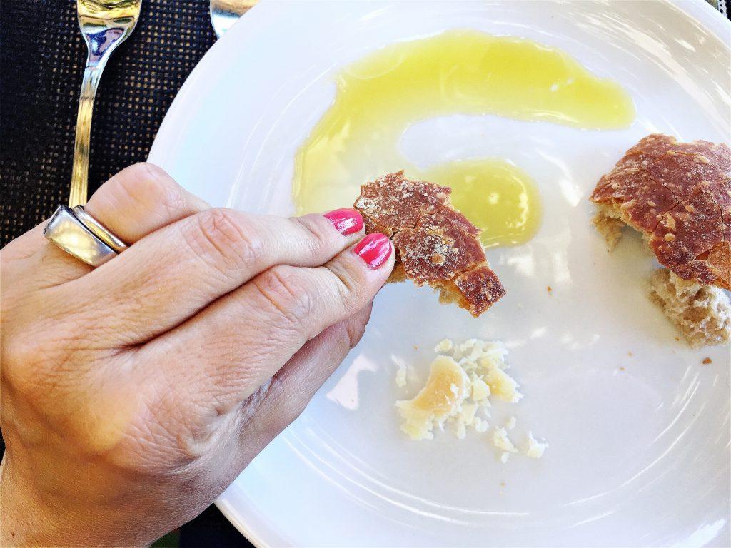 pane e olio L'Oro di Capri