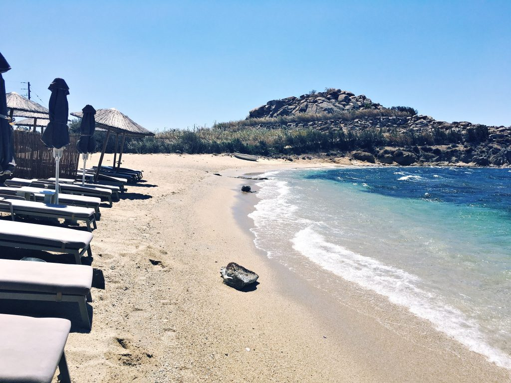 Agia Anna- Paraga Beach: Nicolas Taverna, Mykonos