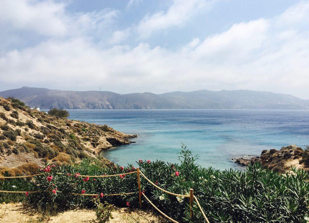 Agios Sostis beach, Kiki's Tavern, Mykonos