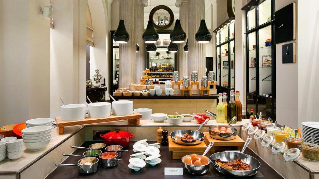 La favolosa colazione del Palais Hansen Kempinski Vienna