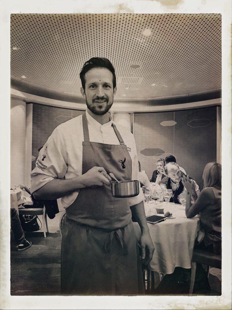 Chef Anton Pozeg | Restaurant Edvard © Sandra Salerno