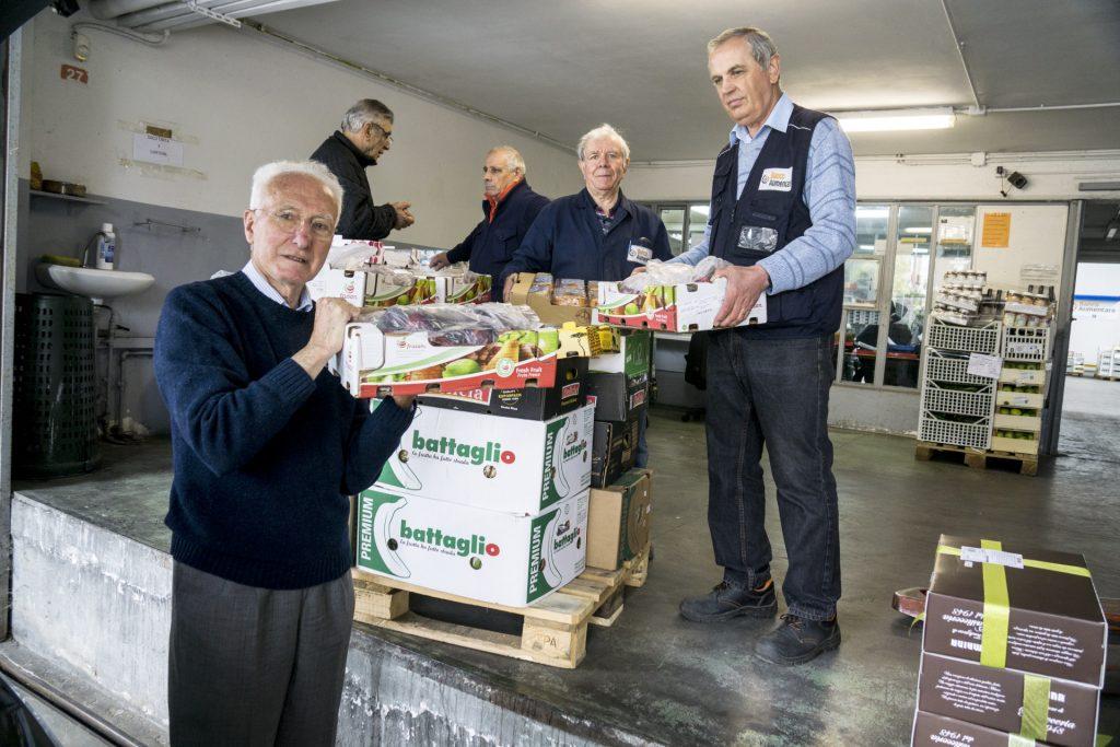 Volontari del Banco Alimentare Piemonte